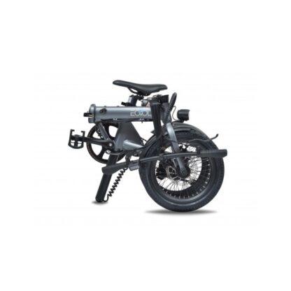 Das E-Bike EOVOLT City ist faltbar und ultra-kompakt. - Grau